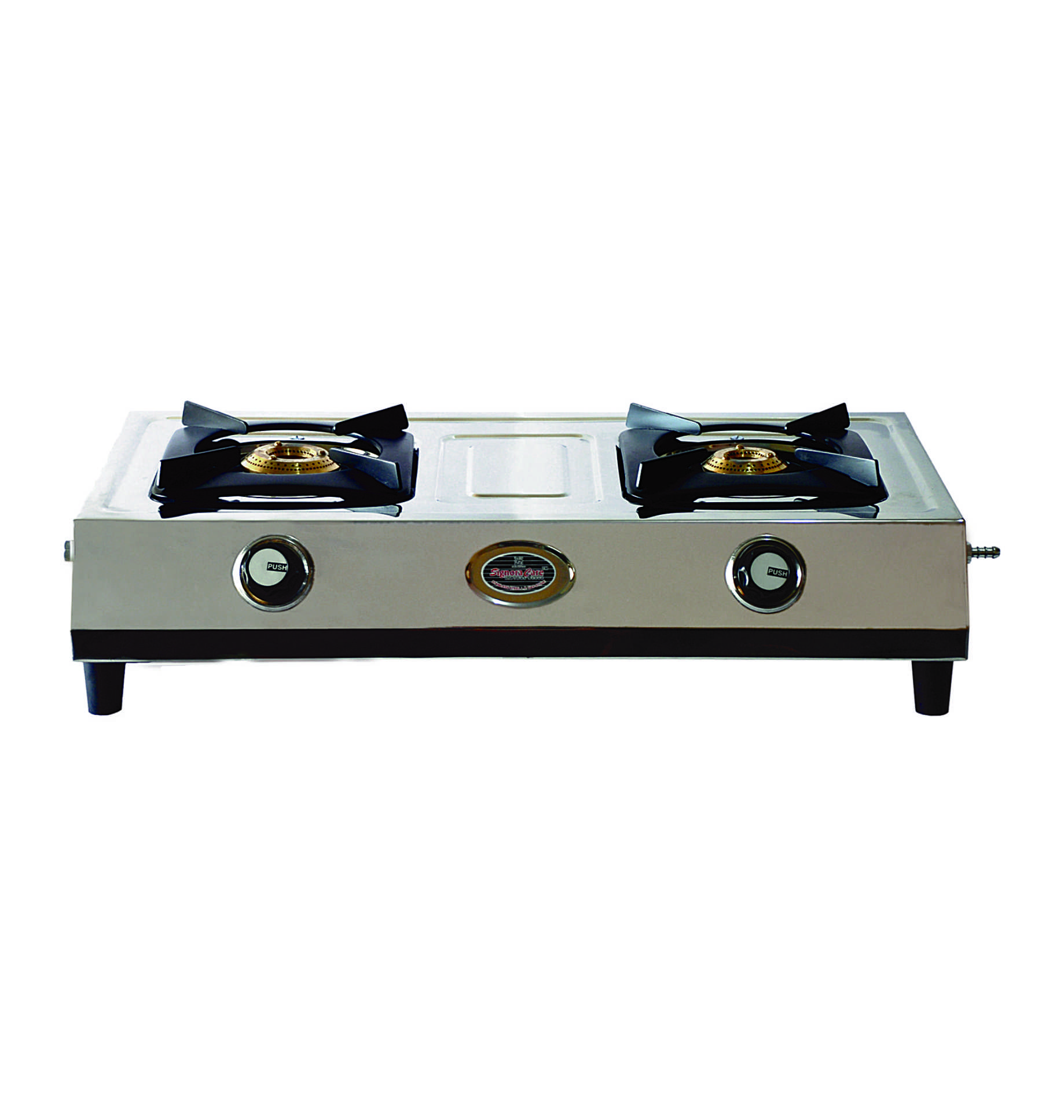 SignoraCare Stainless Steel 2 Burner with Heavy Body