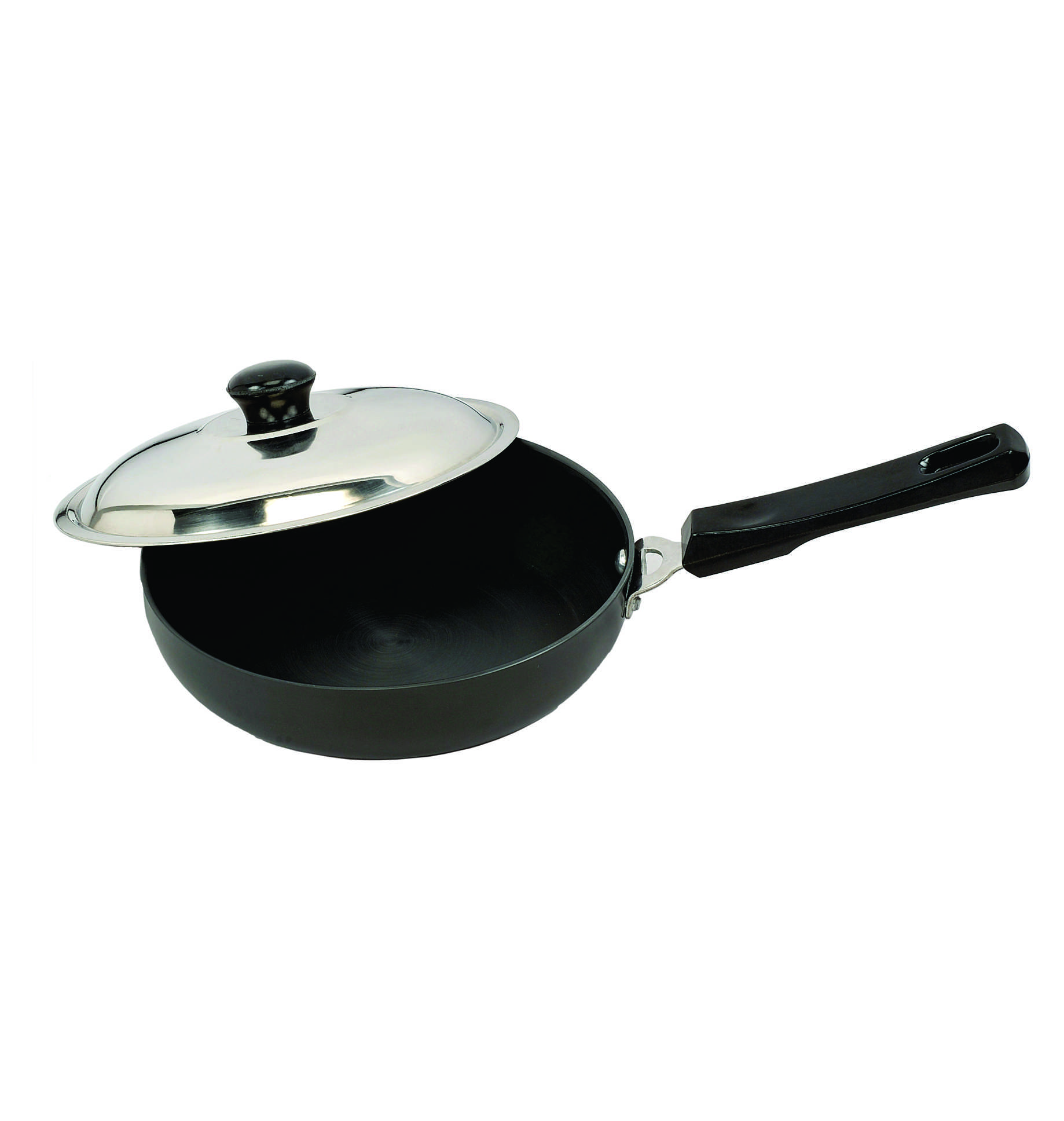 SignoraCare Hard Anodised Fry Pan with Lid 1.5 Litres