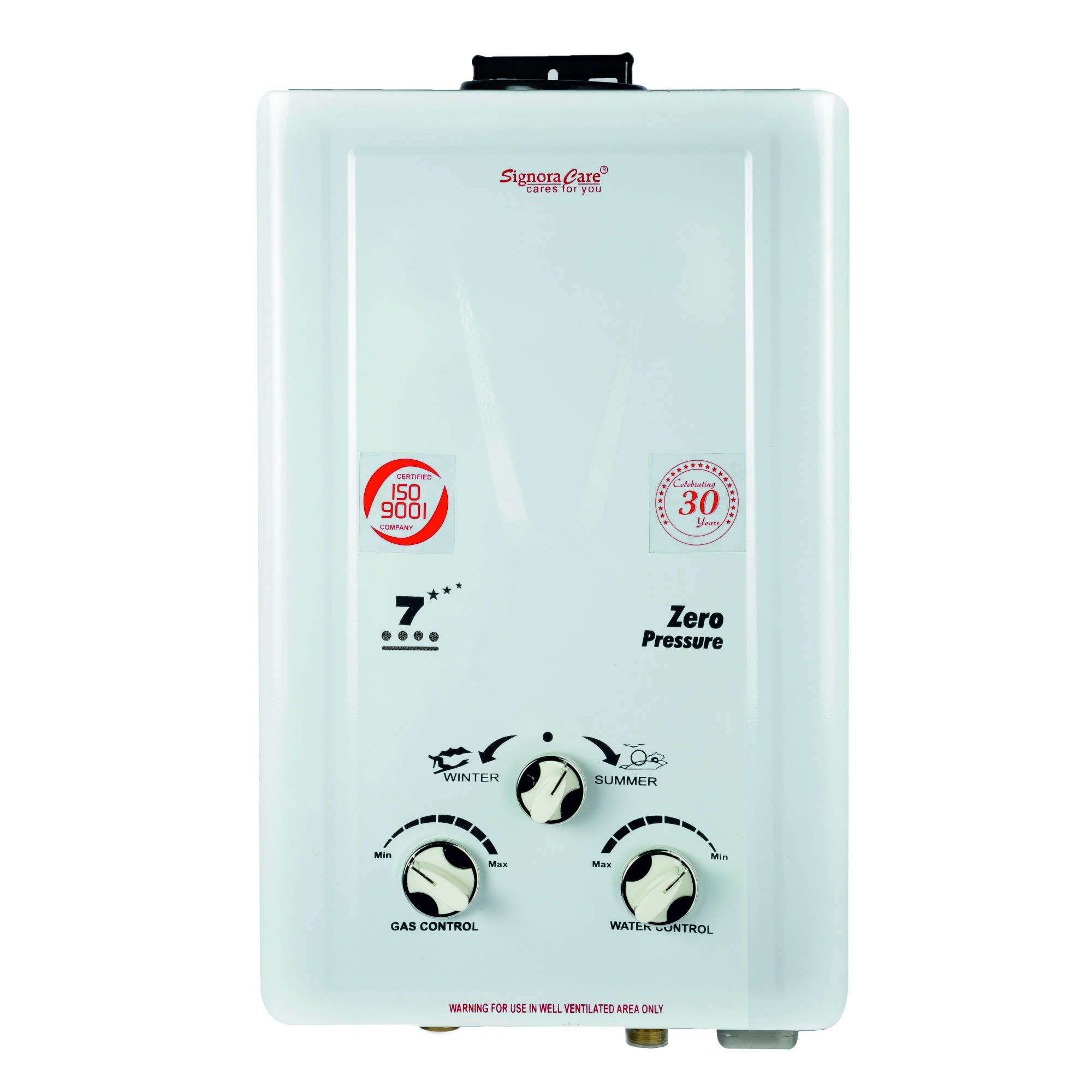 SignoraCare Gas Water Heater
