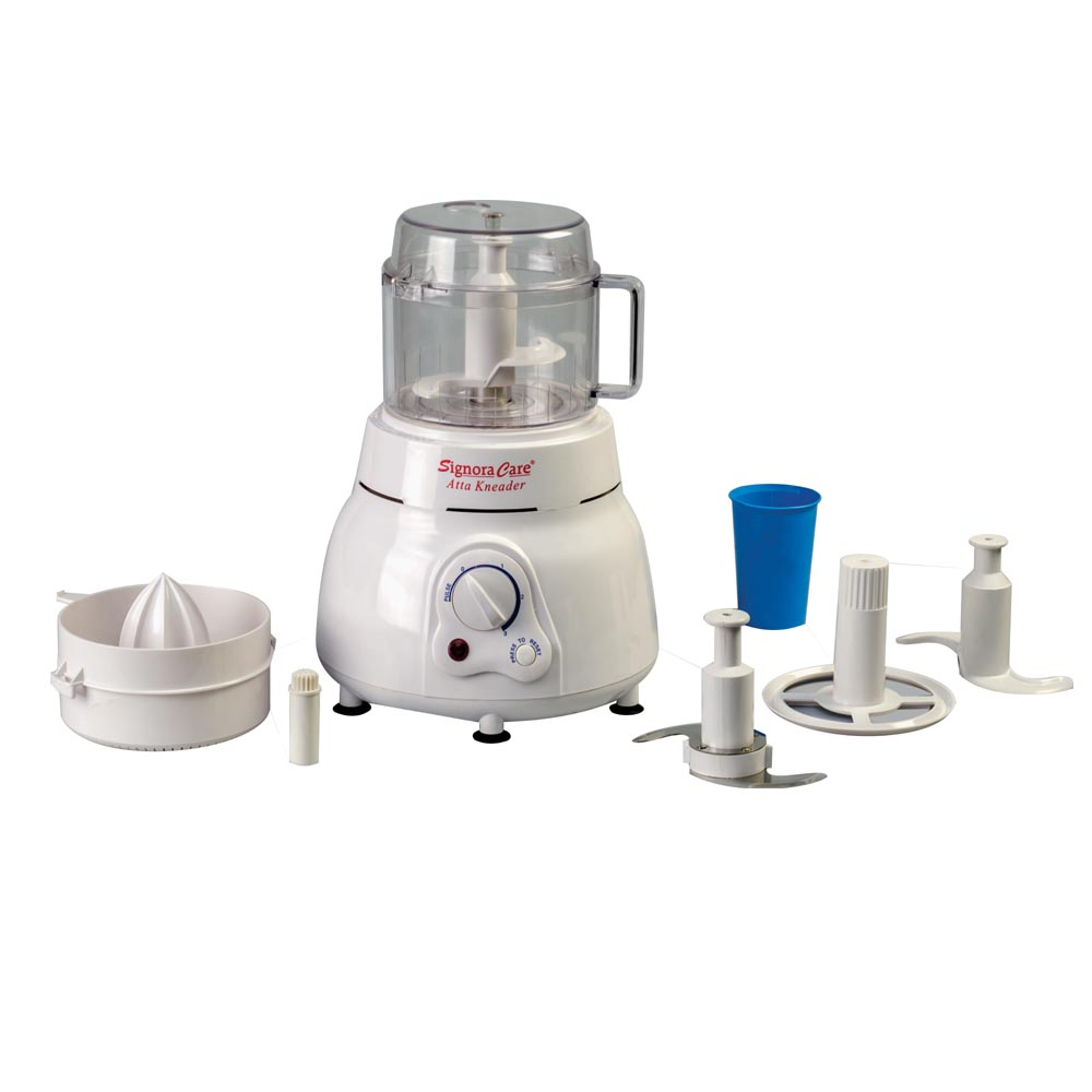 SignoraCare 650 Watts Atta Kneader/Food Processor